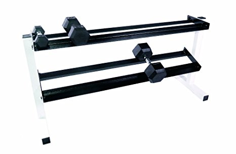 4. CAP Barbell Two Tier Dumbbell Rack