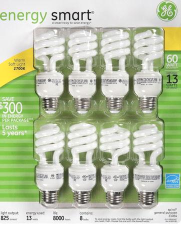 5. GE 13-Watt Energy SmartTM 60 Watt Replacement