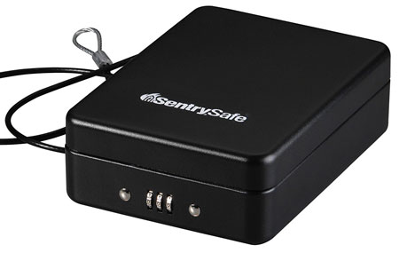 10. SentrySafe P005C Compact Safe, 0.05 Cubic Feet, Black