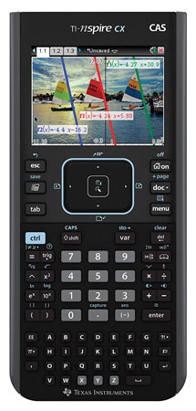 3. Texas Instruments Nspire CX Graphing Calculator.
