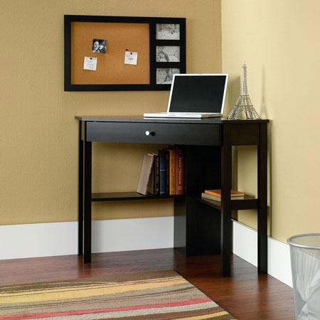 8. Sauder Beginnings Corner Computer Desk, Cherry