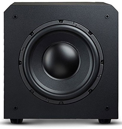 5. OSD Audio PS10 10-inch High Powered 125-Watt Premium Home Theatre Subwoofer, Black