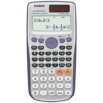 7. Casio FX- 115ES PLUS engineering/ scientific calculator
