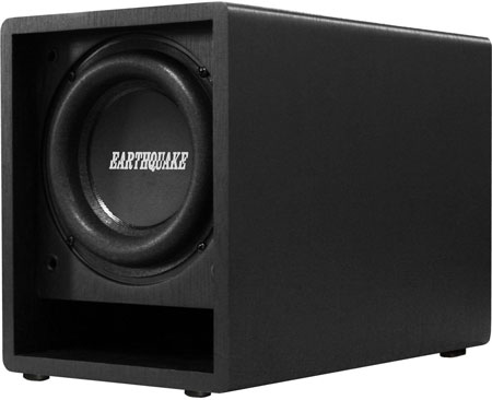 4. Earthquake Sound FF6.5 6.5-Inch Front Firing Subwoofer