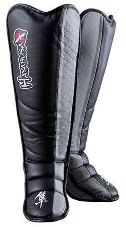 8. Hayabusa Tokushu Grappling Shin Guards