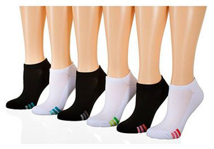 8. Tipi Toe Women's No Show Athletic Socks