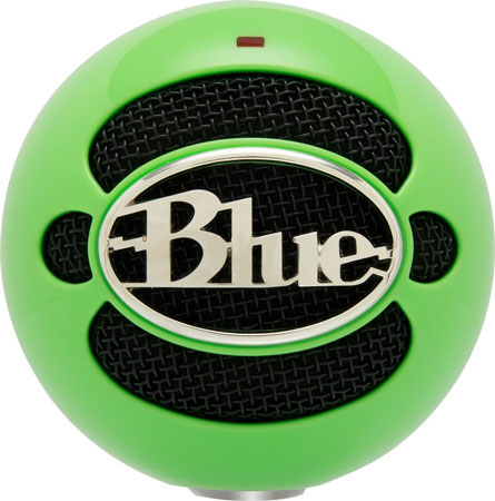 10. Blue Snowball USB Microphone (Neon Green)