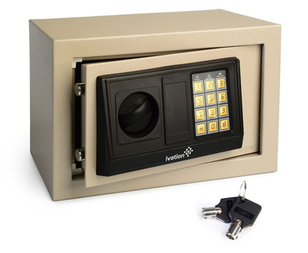 5. Ivation Electronic Digital Safe Box for Home & Office