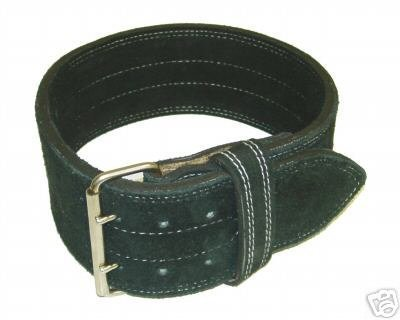 9. Ader Leather Power Lifting Weight Belt