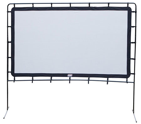 10. Camp Chef OS92L Portable Outdoor Movie Screen
