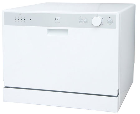 8. SPT SD-2202W Countertop Dishwasher with Delay Start