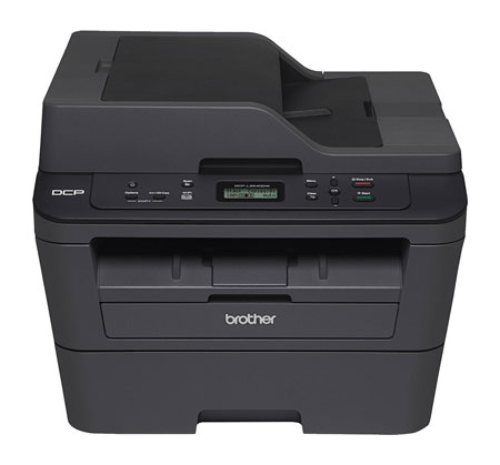 10. Brother DCPL2540DW Wireless Compact Laser Printer, Amazon Dash Replenishment Enabled