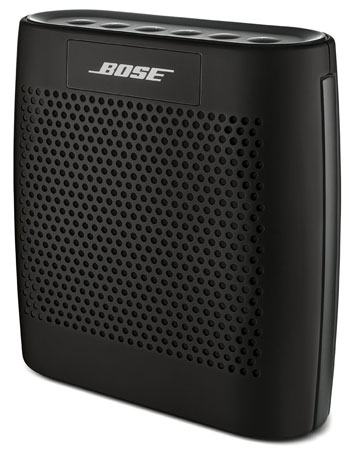 9. Bose SoundLink Color Bluetooth Speaker (Black)