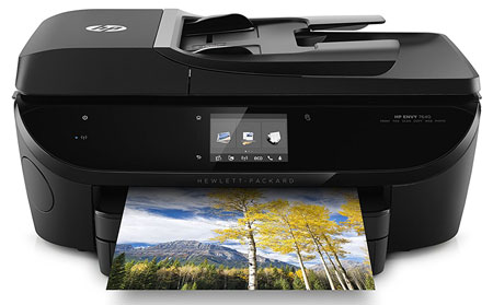 5. HP Envy 7640 Wireless All-in-One Photo Printer