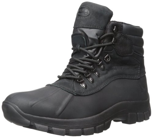 10. KingShow Men's Waterproof Duck Snow Boots.