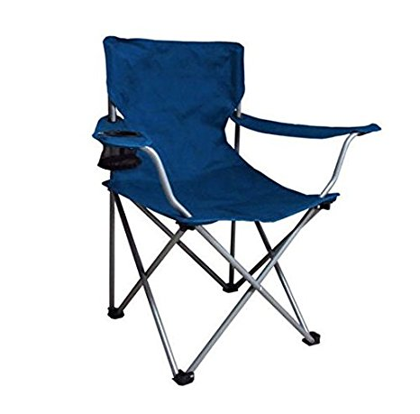 1. Ozark Trail Folding Camp Chair, Blue