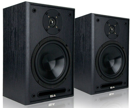 2. Sound Appeal 6.5-Inch Bookshelf Speakers