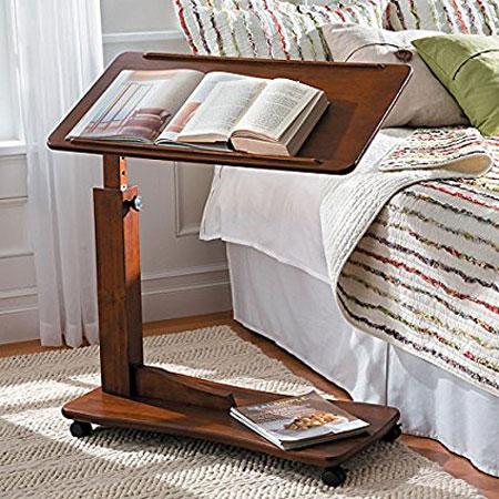 8. Adjustable Table - Rubbed Walnut