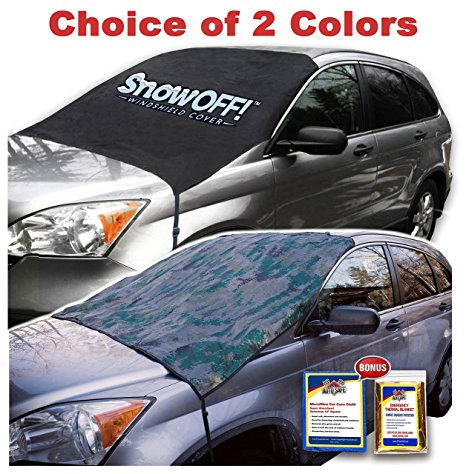13. SnowOFF LARGE Windshield Snow Cover