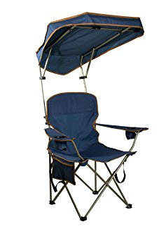 5. Quick Shade MAX Shade Camp Chair, Navy