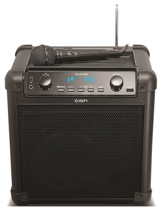 1. ION Audio Tailgater (iPA77) | Portable Bluetooth PA Speaker with Mic, AM/FM Radio, and USB Charge Port