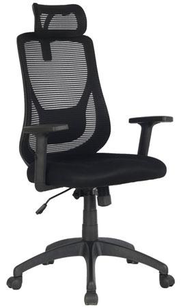 3. VIVA Office Ergonomic High Back Chair with Adjustable Headrest and Armrest