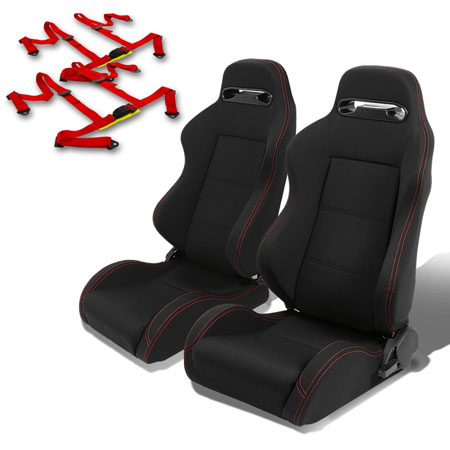 7. Pair of RSTRLRNEW Racing Seats+Harness 2