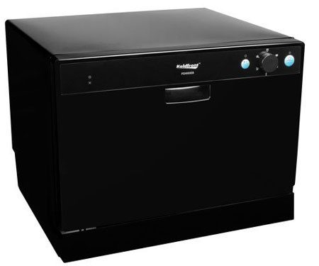 4. Koldfront 6 Place Setting Portable Countertop Dishwasher