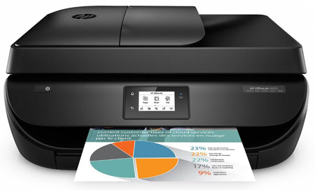 2. HP OfficeJet 4650 Wireless All-in-One Photo Printer with Mobile Printing