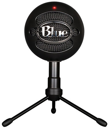 1. Blue Snowball iCE Condenser Microphone, Cardioid- White