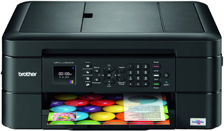 8. Brother MFC-J480DW - Wireless Inkjet Color All-in-One Printer w Auto Document Feeder