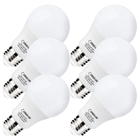 10. Lohas Led Light Bulbs 60 Watt Equivalent