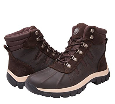 8. KINGSHOW Men's 1586 Waterproof Cold Weather Boot