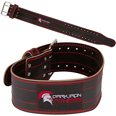2. Genuine Leather Pro Weight lifting Belt