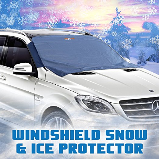 11. Windshield Snow Cover - Auto Ice Wiper Protector