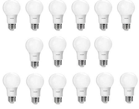 6. Philips 461137 60 Watt Equivalent Daylight A19 LED Light Bulb