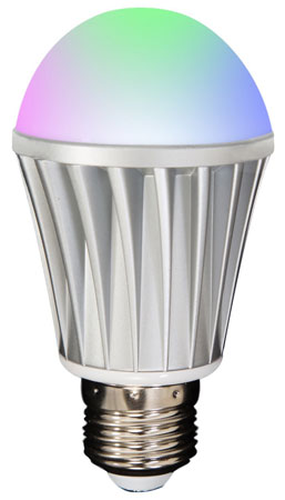 9. Smart Light Bulb, Android, and iOS Bluetooth App Controlled-Energy Saving