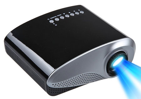 7. Mira-Tech 2.4Inch Portable Mini Projector