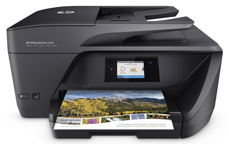 6. HP OfficeJet Pro 6978 Wireless All-in-One Photo Printer with Mobile Printing