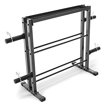 6. Metal weights combo storage rack up to 1000 pounds