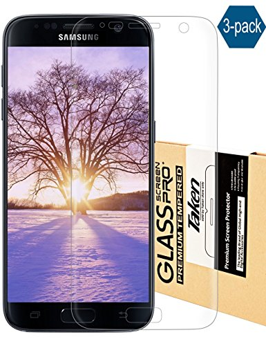 13. Taken Galaxy S7 screen protector