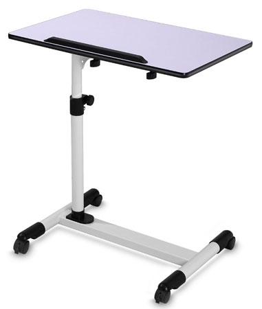 4. Adjustable Bedside Table Mobile Laptop Desk Cart