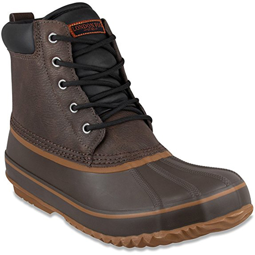 4. London Fog Men's Ashford Waterproof and Insulated Duck Boots