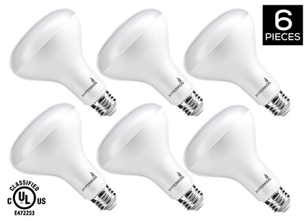 7. HyperSelect LED BR30 Light Bulb, 10W Non-Dimmable