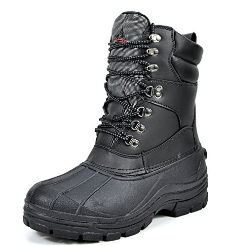 9. ARCTIV8 Men's Insulated Waterproof Rubber Shoes