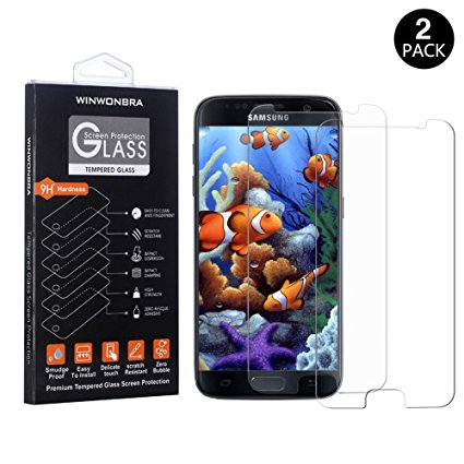 11. WINWONBRA Tempered Glass Screen Protector