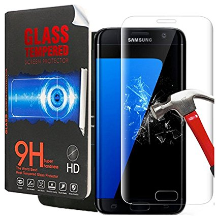 14. Galaxy S7 Glass Screen Protector, Creativecase