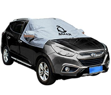 12. ASAER Premium Windshield Car Snow Cover