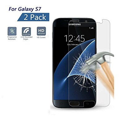 16. Samsung Galaxy S7 Screen Protector, XKAUDIE(TM)