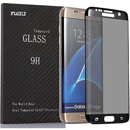 15. HYAIZLZ(TM) 9H Hardness 3D Tempered Glass Anti-Spy Screen Protector